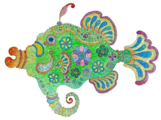 紋々柄々魚・オス