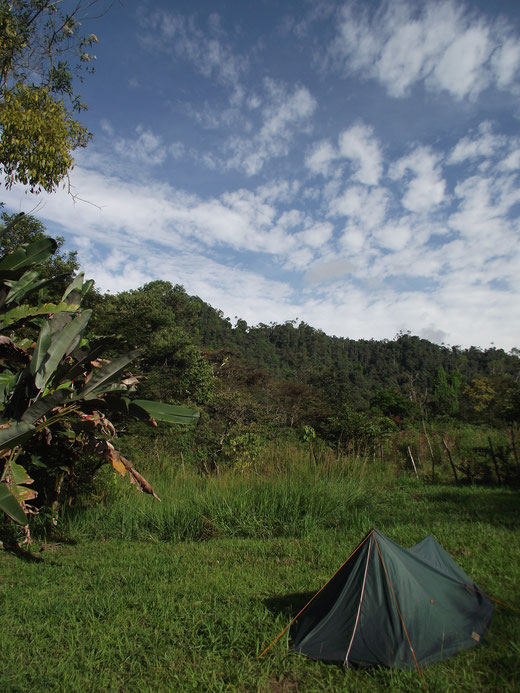 camping, Mindo, Ecuador