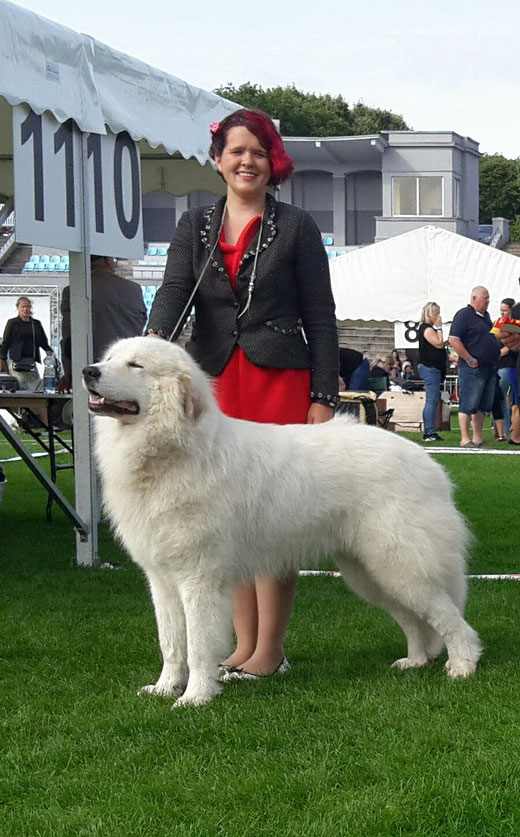 Echo de'Chien Conrad in Tallinn Internation show