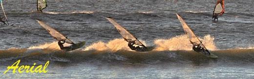 »TIPP: Egal wie schlecht eine Welle auch scheint. Wichtig ist, dass man bei allen Bedingungen dazu lernt und Spaß haben kann. Umso mehr Wellen man mitnimmt, umso schneller lernt man.