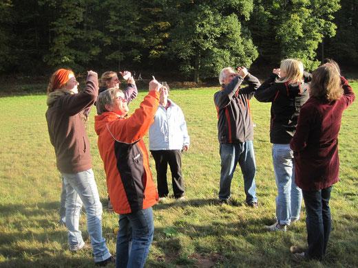 Nicht nur bei den Naturtrainerworkshops gibt es viel zu entdecken, Bild: NABU Region Trier