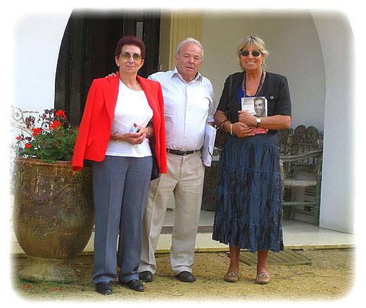 Silvi, José Crespo Larraza et Daniela