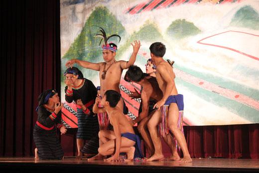 2011年5月名古屋市東海高校での演劇発表