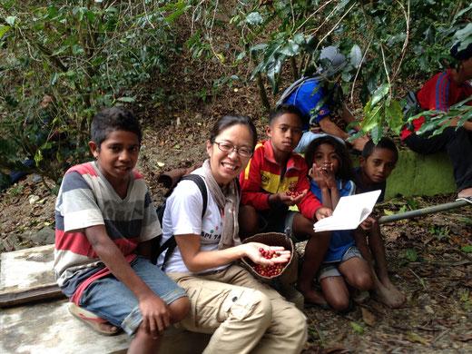 コーヒー農家とともに東ティモール訪問(2016)