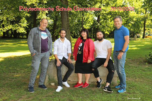 v.l. Josef Bauer, Raffael Raudner, Claudia Moshammer-Gupta, Philipp Doppler, Helfried Kleindienst