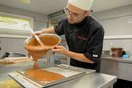 Fête du safran et marché fermier : chocolats marthé