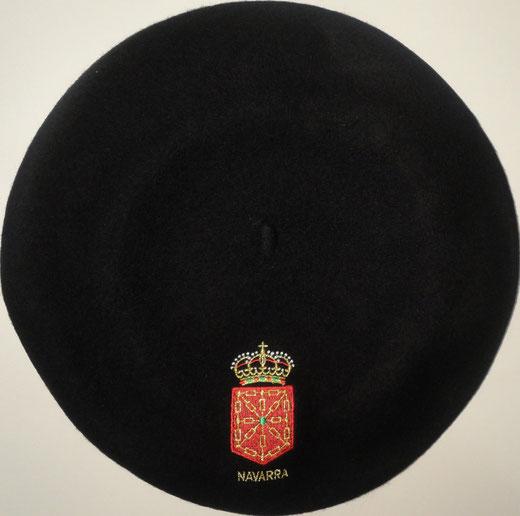 Boina Navarra Negra