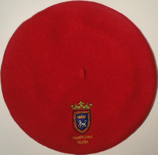 Boina Pamplona Roja