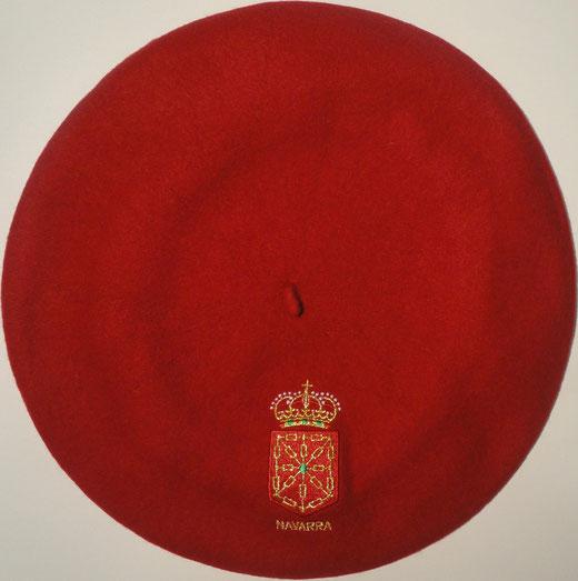 Boina Navarra Roja