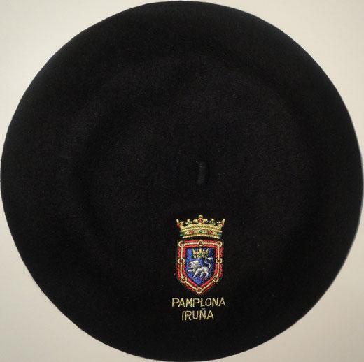 Boina Pamplona Negra