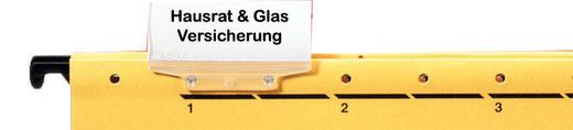 Hausrat + Glas - Versicherung