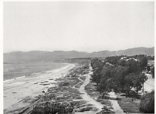 Circa 1900, after first planting of trees