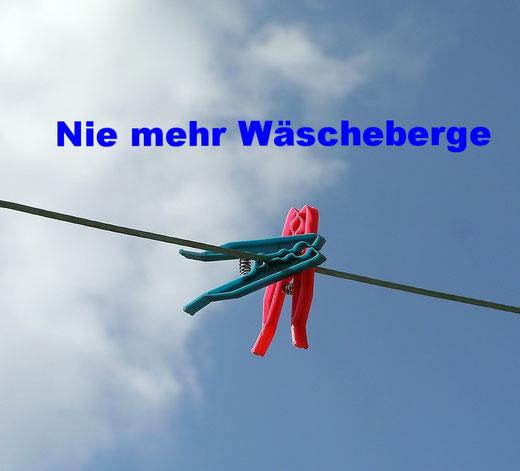 Wäscheberge vermeiden: So wasche ich weniger Wäsche
