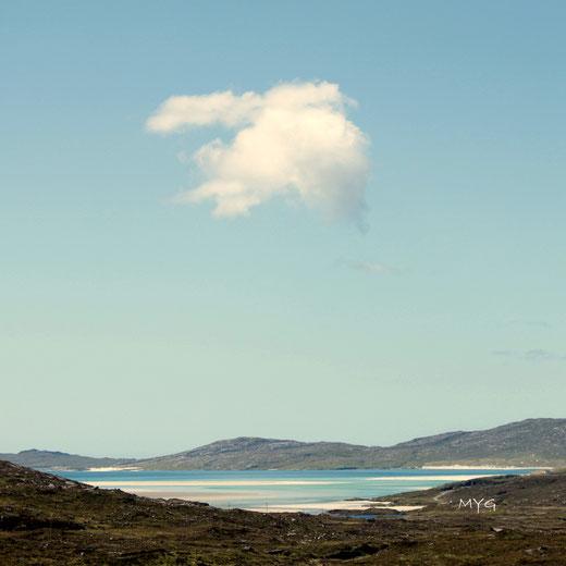 Nuage sur l'ile de Harris