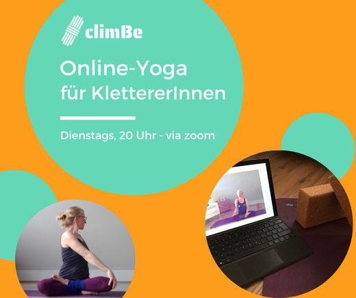 Online-Yoga für Kletterer - Yoga und Klettern München