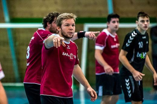 Unter der Regie von Remy Bhend gelang der HGB der Cup-Halbfinaleinzug. Foto: Ueli von Allmen, HG Bödeli