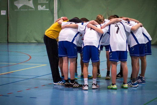 Dank einer konzentrierten Teamleistung siegte die HGB-U17 in Bern mit 34:29 (Archivfoto: Ueli von Allmen)