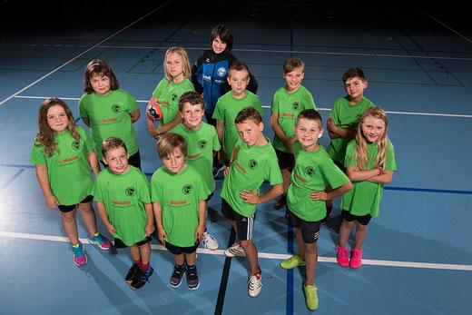 Die U9/U11 der HG Bödeli trat mit zwei Teams am Turnier in Thun an. Bild: haeslerfoto.ch