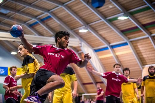 Junior Subananth Kathiravelu konnte einen Treffer verbuchen. Bild: Ueli von Allmen