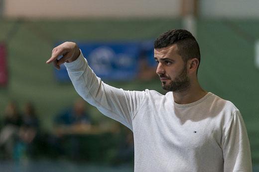 Trainer Refik Sabani konnte aufgrund der Voraussetzungen mit der Leistung seines Teams zufrieden sein. Archivbild: Ueli von Allmen
