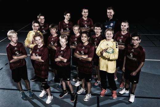 Dem U15-Team der HG Bödeli ist der Auftakt in die Saison geglückt. Bild: Häsler Foto Video
