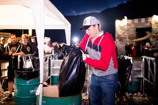 Seit elf Jahren steht er an jedem Greenfield Festival als Helfer im Einsatz. Bild: live-it.ch