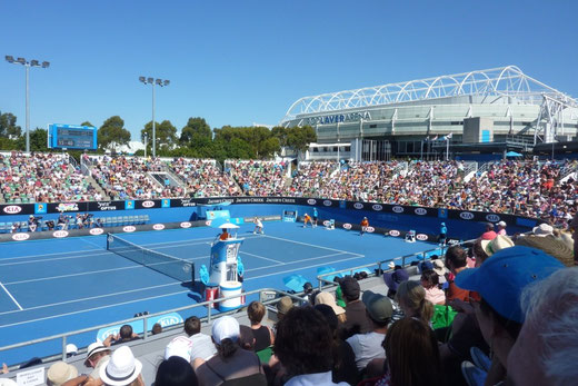 Vom 13. - 27. Januar treffen bei den Australian Open die besten Tennisspieler der Welt aufeinander. (Foto: Jan Geißler)