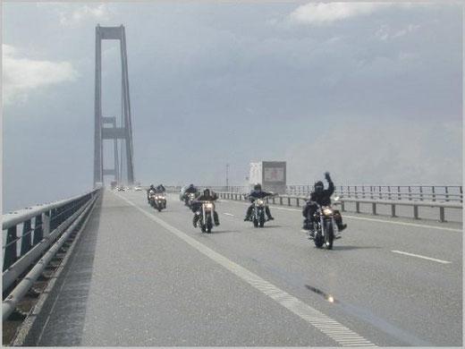 Neue große Beltbrücke in Dänemark
