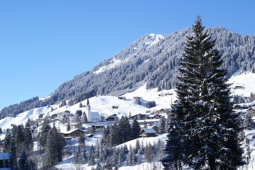 Ferienwohnungen und Appartements Hilbrand in Hirschegg im Kleinwalsertal