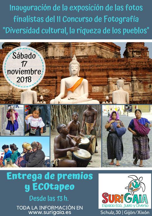 Exposición, entrega de premios y ECOtapeo. I Concurso de fotografía de SuriGaia