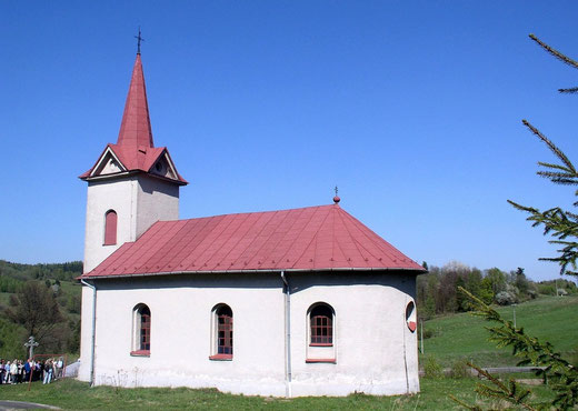 Cerkiew murowana św. Dymitra Męczennika w Obručnem na Słowacji (fot. Anna Bożek)