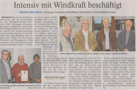 Windkraft Thema bei Schutzgemeinschaft Deutscher Wald