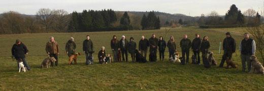 Hundeführer beim Jagdverein Hubertus Gießen