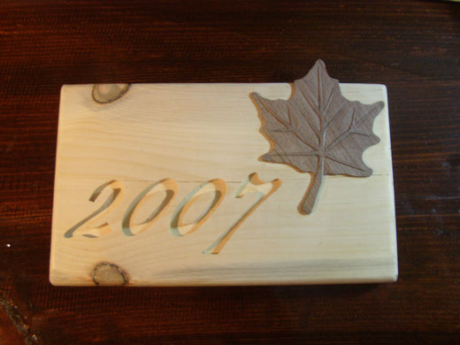 Maple sign