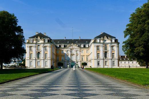 Gartenreise Deutschland : Schloss und Park Augustusburg bei Brühl