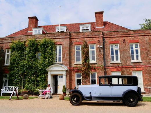 Sehenswürdigkeit englische Gärten  Herrenhaus Hole Park Rolls Royce