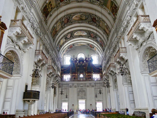 Die Orgel im Salzburger Dom