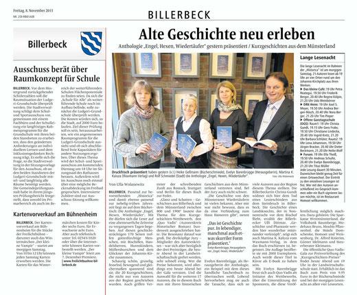 Von Ula Wolanewitz/Billerbecker Anzeiger
