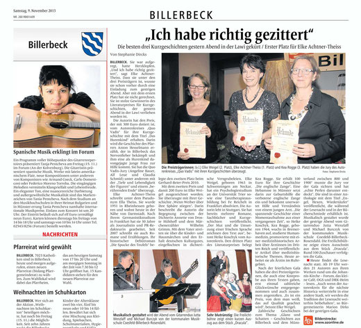 Von Stephanie Dircks/Billerbecker Anzeiger