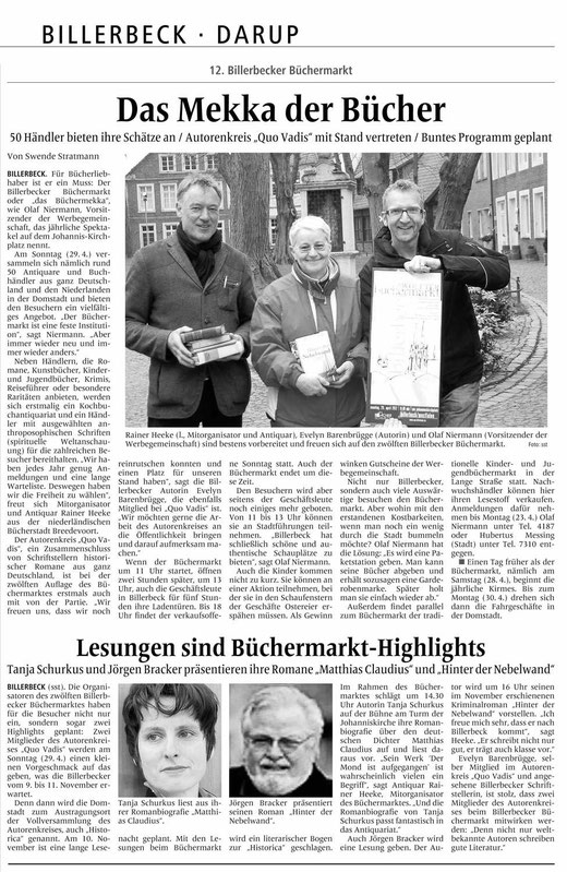 Billerbecker Anzeiger vom 10.4.2012
