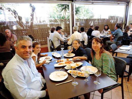 La familia Márquez-Serra.