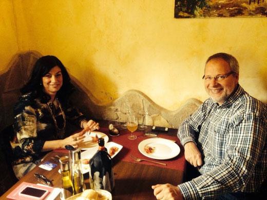 Michel y Francesca celebraron su aniversario. Felicidades