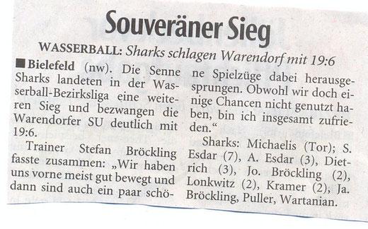 Senne Sharks Mai 2015