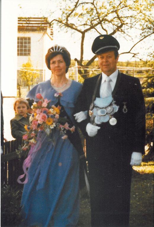 Magdalena und Karl-Heinz Kleine im Jahr 1977