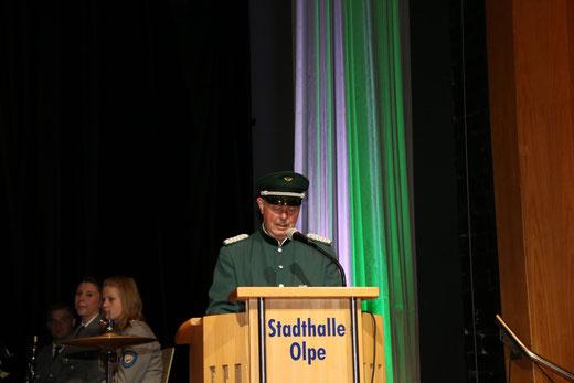 Begrüßungsrede von Heinz Schröder, Sprecher der 5er-Gemeinschaft