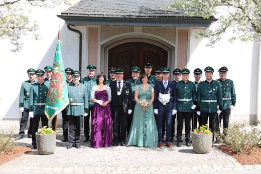 Vorstand und Majestäten im Jahr 2019