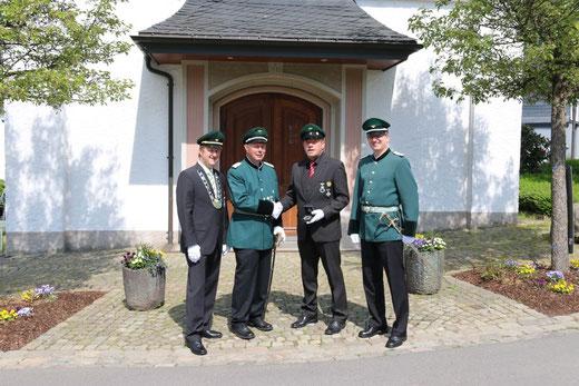 Kaiser Jürgen Butzkamm, Major Heinz Schröder, König Ulrich Grebe & Hauptmann Georg Scheiwe