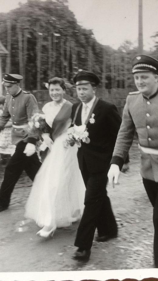 Ilse und Günther Kleine im Jahr 1957