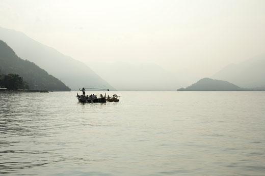 tournage Madame Solario- Lac de Côme