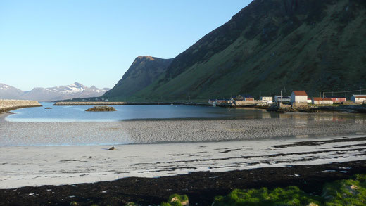 petit port de pêcheurs-Iles Lofoten